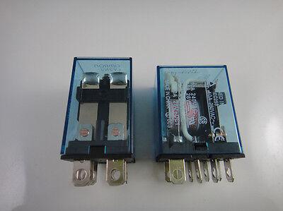 10pcs Coil Power Relay LY2NJ 12V DC DPDT 8 Pin Miniature Relay LY2 HH62P JQX-13F