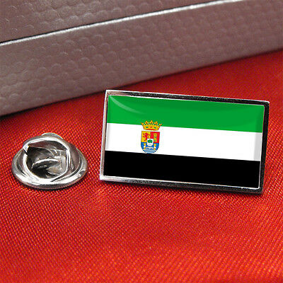 Extremadura Flag Lapel Pin Badge/Tie Pin
