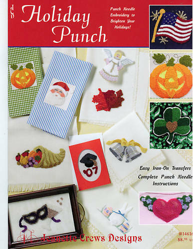 Punch Needle Embroidery: Holiday Punch - Retail $8.95 *