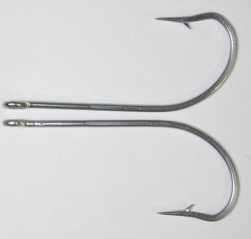 25 34007 9//0 SS long shank fly fishing tying hooks peacock bass salmon tarpon