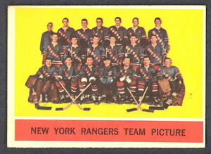 1963-64-TOPPS-65-NEW-YORK-RANGERS-TEAM-EX-NM-N-Y-HOCKEY