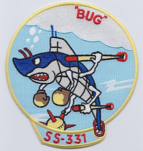 "USS Burgara SS 331 ""BUG"" Diesel Boat Submarine (limited production) c6991"