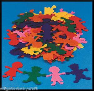 500-Girl-Boy-Felt-Shapes-3-ABCraft-Storyboard-Felt-Board-Kids-Colorful-Crafts