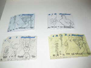 1998-MARVEL-CREATORS-COLLECTION-SKETCHBOARDS-ALL-COLORS-PICK-ONE