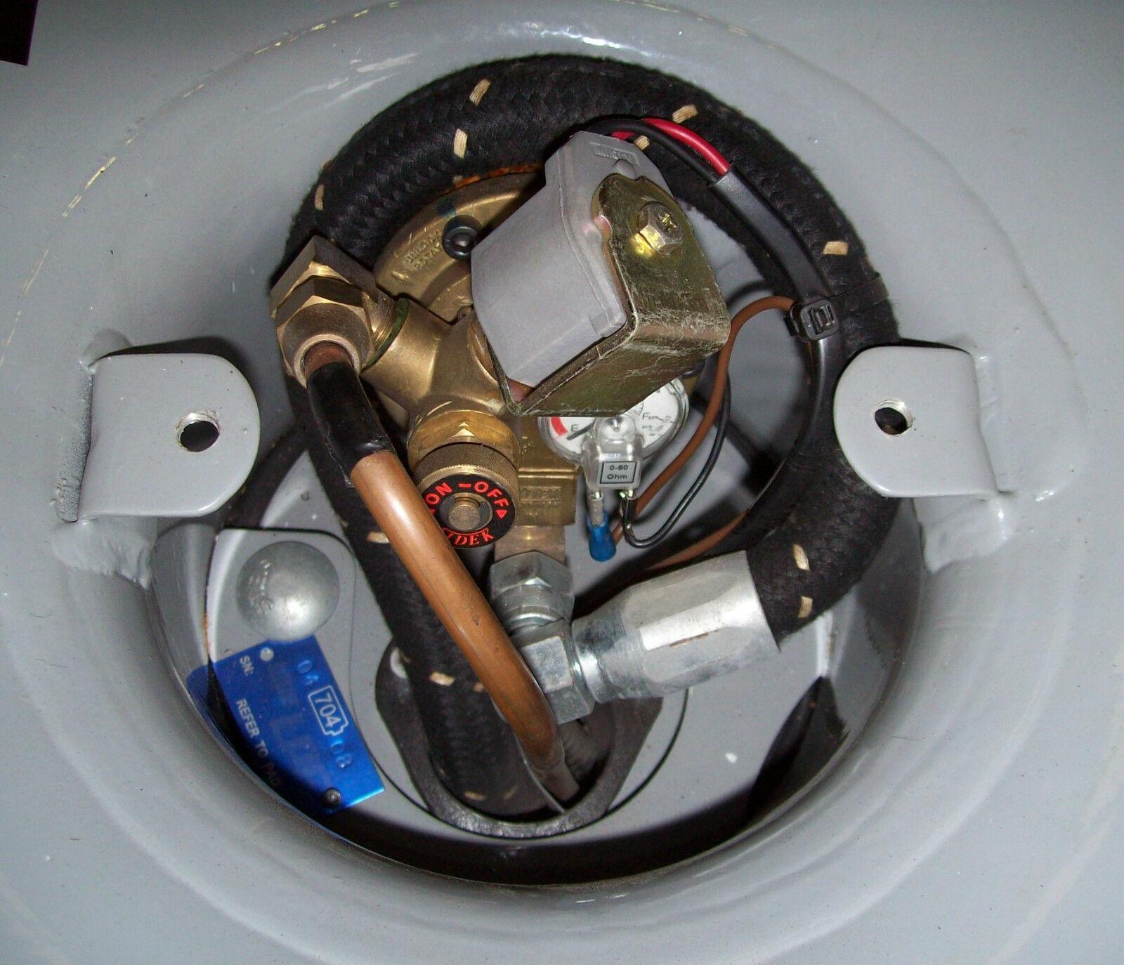 LPG Tank 12 Volt Lock Off Solenoid Valve   eBay