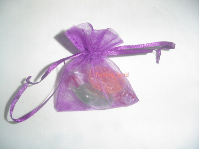 Limited Offer 100pcs for £3.49 Organza Wedding Favuor Gift Bags Jewelery Pouch