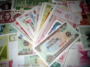 Uncirculated-Foreign-Currency-World-Paper-Money-Bills