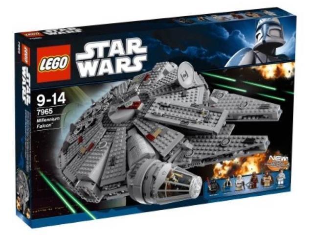 7965 Millennium Falcon Star Wars LEGO New Millenium légos Set Sealed difficile