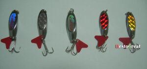 5PCS-Fishling-twinkling-Spoon-Lure-Lures-baits-8g-11-5g