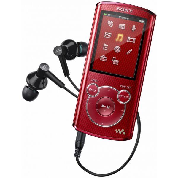 Sony Mp3 Player 4gb Walkman Nwz E383: Sony Walkman NWZ-E383 Red Red (4 GB) Digital Media Player