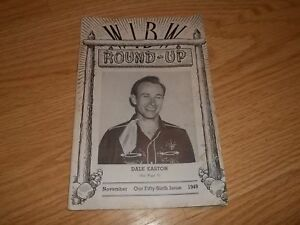 1949 WIBM Round-Up Kansas Magazine Dale Easton