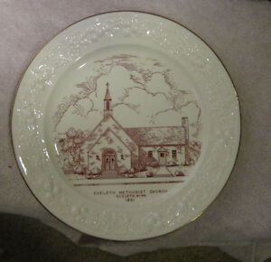 Eveleth-Methodist-Church-MN-Collector-Plate-1951-Dean-Headley-Bishop-Cushman