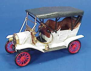 1/48 SCALE WISEMAN 1910 MODEL T FORD TOURING CAR KIT NM-902TU NATIONAL MOTOR