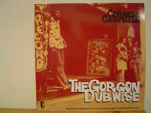 CORNELL-CAMPBELL-The-Gorgon-Dubwise-LP-Rare-Classic-1970s-Dub-Versions