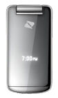 Sanyo SCP 3810 (Mirro) - Silver (Boost Mobile) Cellular Phone