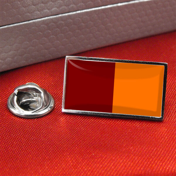 Rome Flag Lapel Pin Badge/Tie Pin