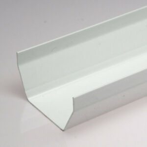 White-SQUARE-Guttering-and-Fittings-Gutter-Size-117mm-x-57mm-x-3-6m