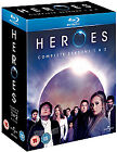 Heroes - Series 1-2 - Complete (Blu-ray, 2008, 9-Disc Set, Box Set)