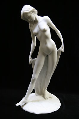 Sexy Erotic Nude Naked Bather Italian Statue Sculpture Vittoria Collection Italy