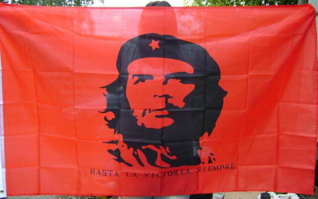 NEW 5 x 3 FOOT (150x90cm) CHE GUEVARA HASTA LA VICTORIA SIEMPRE! FLAG