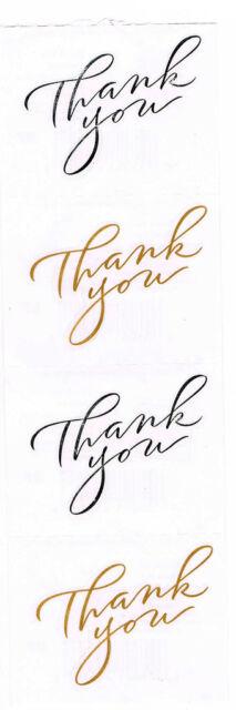 MRS GROSSMANS THANK YOU STICKER STRIP BN & NLA