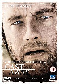 Cast-Away-DVD-2001-2-Disc-Set-Special-Edition-Disc-Only
