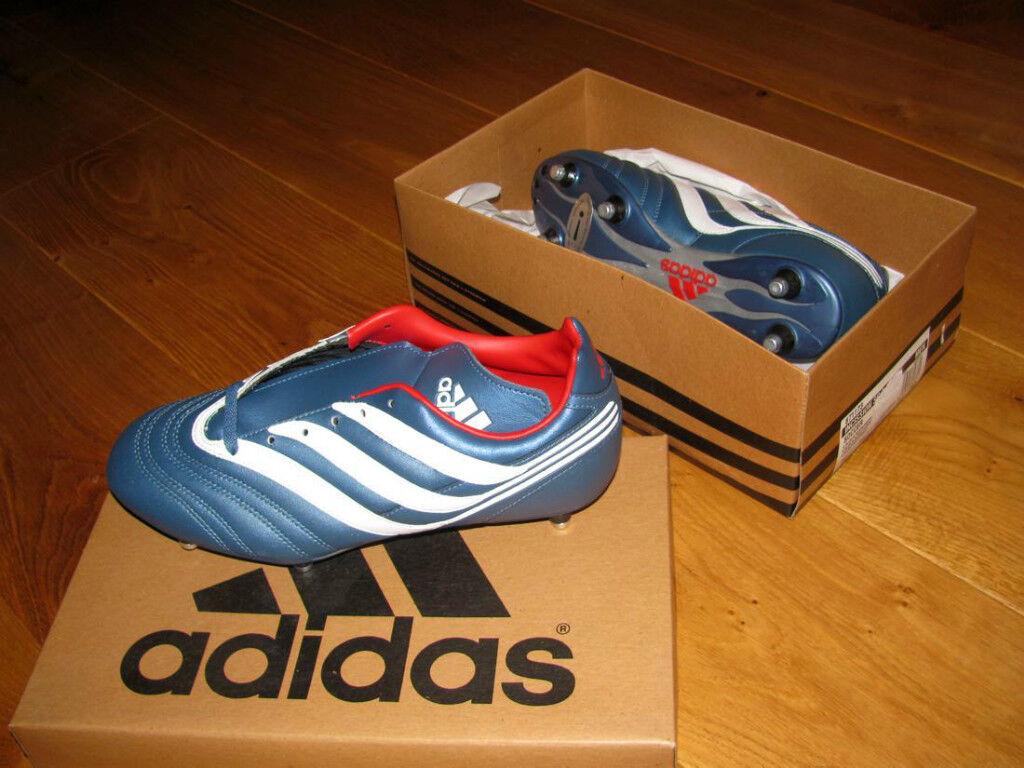 innovative design 0885d 3d556 Adidas Fussballschuh INCISSION SG Gr 7,5 Stollenschuh von 2001 NEU OVP  Megarar