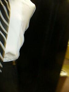 USED-Necktie-Stripe-Pretied-PLATINUM-SN803