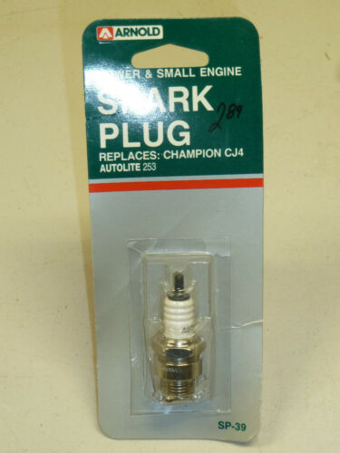 REPLACES CHAMPION CJ4 Arnold SP-39 SMALL ENGINE SPARK PLUG NOS