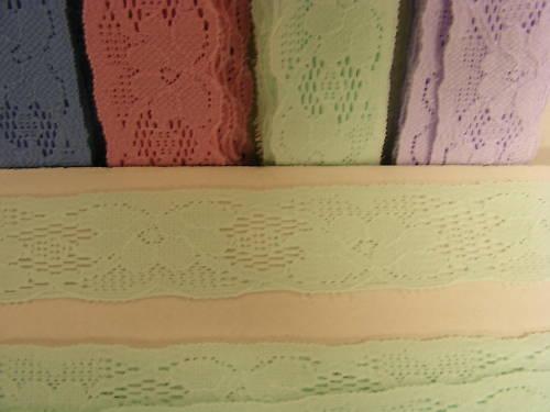 Elastic Lace -  Mint X 10 metres