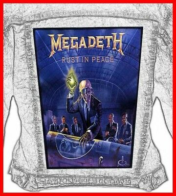 MEGADETH - RUST IN PEACE  Huge Back Jacket Patch