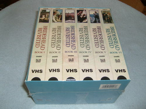 Brideshead Revisited (VHS, 1997, 6-Tape Set) - NEW