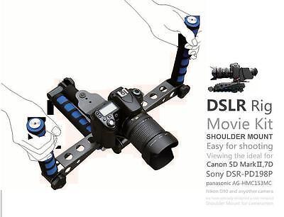 DSLR Rig Movie Kit Shoulder Mount For Canon sony nikon panasonic