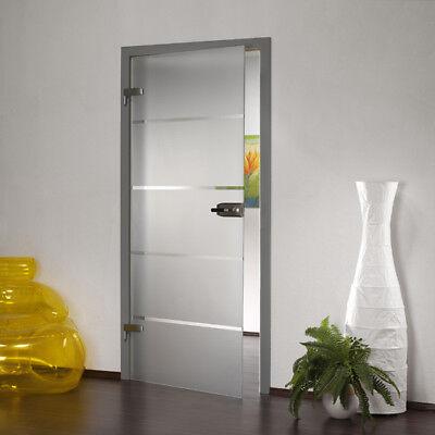 Ganzglastür Glastür Tür Innentür Ganzglastüren Türen Zimmertüren GS 254-F