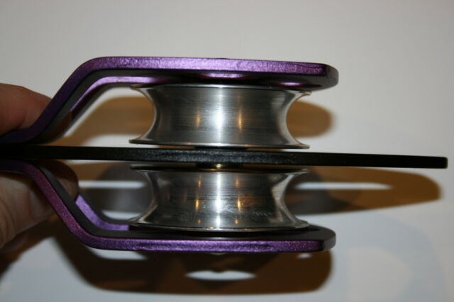 Large Twin sheave Pulley Must have Emergency Gear