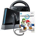 Nintendo Wii Mario Kart Pack Black Console (NTSC-U/C (US/CA))