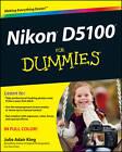 Nikon D5100 For Dummies by Julie Adair King (Paperback, 2011)