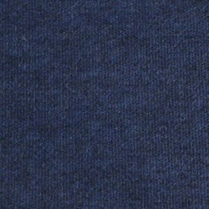 Blue Cheap Cord Carpet Budget Thin Floor Covering