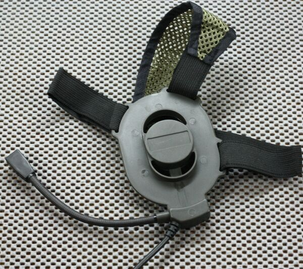 Element / Z-Tactical Z027 Bowman Elite II Style Headset for Airsoft - BLACK