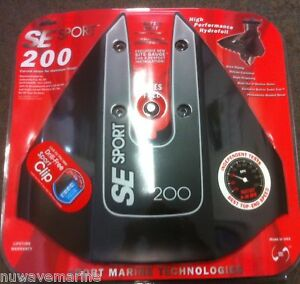 NEW-SE-Sport-200-se200-Hydrofoil-Hydro-Foil-Doel-Fin-Stabilizer-SE200BLK