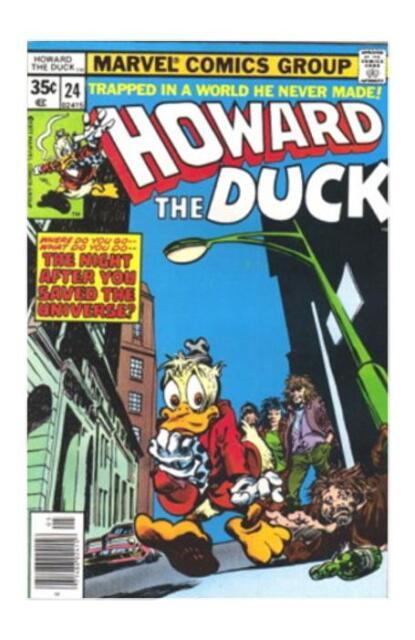 Howard the Duck #24 (May 1978, Marvel) VF