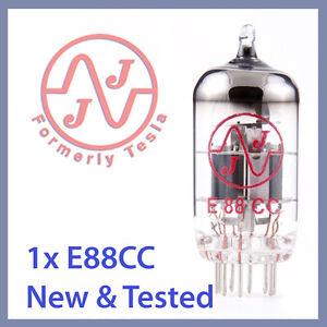 1x-NEW-JJ-Tesla-6922-E88CC-Vacuum-Tube-TESTED