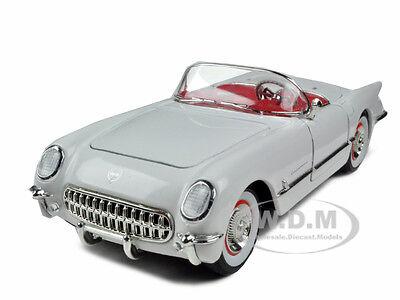 1953 CHEVROLET CORVETTE WHITE 1:32 DIECAST MODEL CAR SIGNATURE MODELS 32429
