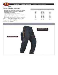 New-Padded-Paintball-Pants-Size-Medium-Dye-Eclipse-Empire-Proto-Sly-JT-Valken