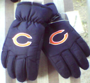 nwt chicago bears winter gloves wow thinsulate toddler. Black Bedroom Furniture Sets. Home Design Ideas