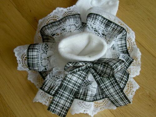 ❤️Spanish Romany Girls Gingham Ankle Socks School Uniform Jazziejems Boutique