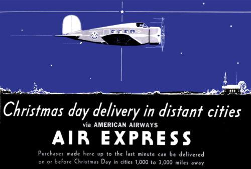 Travel Vintage Decoration /& Design Poster.AIR EXPRESS.Wall Art Decor 1065i