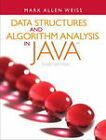 Data Structures and Algorithm Analysis in Java by Mark A. Weiss (Paperback, 2011)