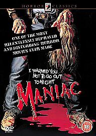 Maniac - Joe Spinell, Caroline Munro, Kelly Piper