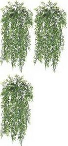 "3 BAMBOO IVY BUSH 32"" ARTIFICIAL PLANT IN OUTDOOR"